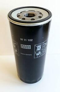 MANN-HUMMEL OIL FILTER  Pt no:  W11102  Equivalent to:  FLEET GUARD LF667