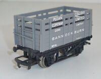 Hornby Railways R101 Plean Collery Coke Waggon BANNOCKBURN #4 OVP Spur 00/H0