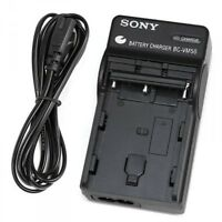 NEW Genuine SONY BC-VM50 BATTERY CHARGER for NP-FM55H NP-FM70 NP-FM500H Original