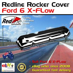 New Redline Chrome Rocker Cover Fits Ford 6 X-FLow Cross Flow Valve Cover 250