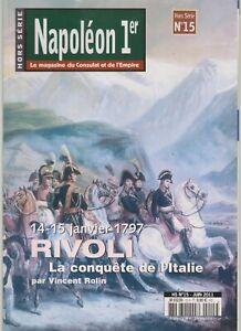 NAPOLEON 1er HS N°15     14-15 janvier 1797   RIVOLI    la conquete de l italie