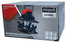 Scheppach MTE380 Elektro Motorhacke/Kultivator, 16 Messer, 360mm, 1050Watt, 230V