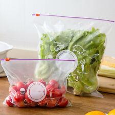 Sealing Zipper Fridge Freezing Fresh Keeping Saran Wrap Food Storage Bag