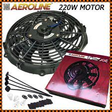 """12 """" Aeroline Radiatore Elettrico 12v Ventola di Raffreddamento 220w Motore"""