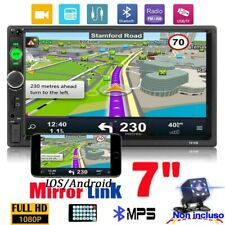 """7"""" Wince Autoradio Stereo 2Din Bluetooth MP5 AUX USB Mirror Link IOS/Android"""
