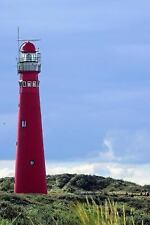Wadden Island Red Lighthouse in Holland Journal : Take Notes, Write down...
