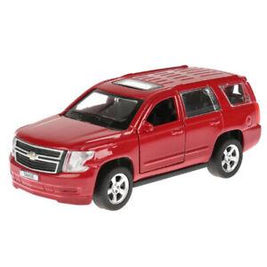 """Chevrolet Tahoe, metal model, red, 12см/ 5"""""""