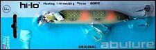 SUPER RARE ABU GARCIA HI-LO FLOATING 11 cm 26 g BORYE color