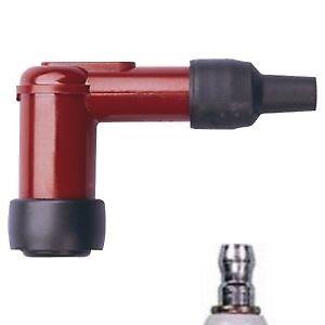 NGK LB05E-R Spark Plug Cap / Resistor Cover (Red) 90º (8898)