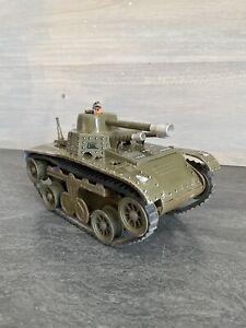 Ancien Jouet Mécanique - JOUSTRA - TANK CHAR - N10 - Militaire Armée - TCHAD