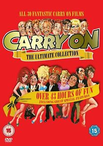 Carry On DVD Box Set Discs Films The Complete Ultimate Collection Series NEW