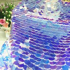 Laser Sequin Fabric Shiny Squama Wedding Crafts Backdrop Soft Cloth
