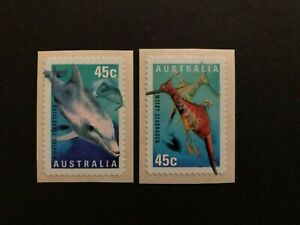 AUSTRALIA 1998 FISH , MARINE LIFE , Sc 1708-1709 , MNH