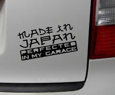 1x made in japan Autoaufkleber Sticker Shocker Aufkleber Auto JDM