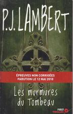 C1 P. J. LAMBERT Les MURMURES DU TOMBEAU Grand Format