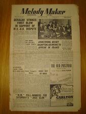 MELODY MAKER 1948 JAN 10 GERALDO LOUIS ARMSTRONG JAZZ