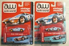 New ListingAuto World 1:64 1965 Ford Gt-40 Lot Gulf number 7 (Rare) and 40 New Look!