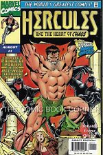 Marve Comics 1997 HERCULES & HEART OF CHAOS #1-3 Complete Series Set Lot AVENGER