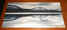 Travis The Man Who Poster 2-Sided Flat Square 2000 Promo 12x24 RARE