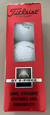 New listing 3 Pack - New in box, Titleist Golf Balls - DT 2- Piece. Has Safeco Logo