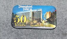 Nice Disneyland Hotel 50 Years Oct. 5, 2005 Pin Back Button 2 3/4""