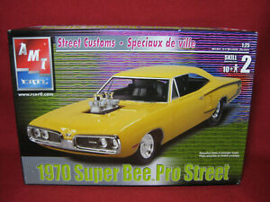 1970 Dodge Super Bee Pro Street Custom Coronet AMT Ertl 1:25 Model Kit 31929