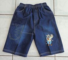 Boy's Denim Peppa Pig George Pig Shorts - Size 5