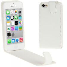étui à clapet Accessoires Boîtier Couverture En Faux Cuir pour Apple iPhone 5C 5