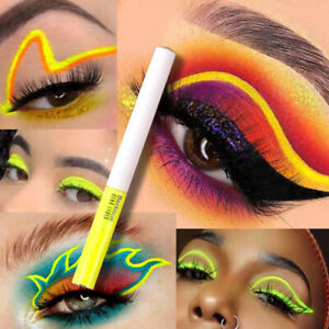 Fluorescent Winged Eyeliner Stamp Waterproof Long Lasting Liquid Eyeliner Pen