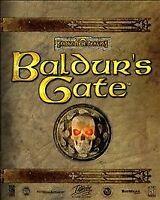 Baldur's Gate FORGOTTEN REALMS (PC Classic Game)