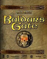 Baldur's Gate (PC, 1998)Used 5 disc set no manual Free Shipping Mature Game Disc