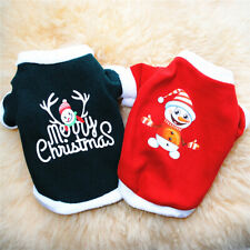 Merry Christmas Dog Sweatshirt Dog Sweater Clothes Pet Dog Cat Costume Clothing