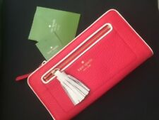KATE SPADE New York Neda Chester Street Grnium/Cmt Zip Around Wallet