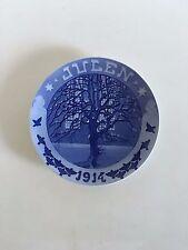 Royal Copenhagen Christmas Plate 1914