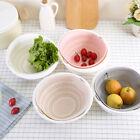 Kitchen Double Drain Basket Bowl Rice Washing Colander Baskets Kitchen Strai .