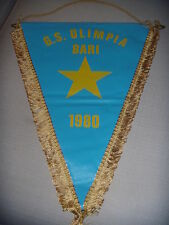 GAGLIARDETTO UFFICIALE CALCIO  G.S. OLIMPIA BARI 1980
