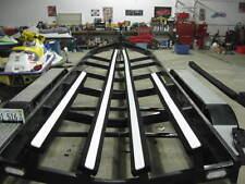 "6pc 3"" x 48"" Boat Trailer Bunk Slide Plastic Carpet Screws Pontoon Bass Lift USA"
