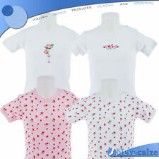Body neonata manica corta  in cotone fantasie bimba tg 30/36 mesi  7BSBOD008