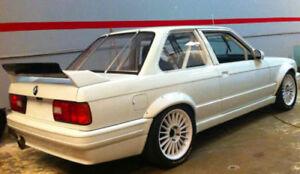 BMW 3 SERIES M3 E30 REAR BOOT SPOILER