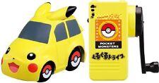 Takara Tomy Guru Guru Drive Pokemon Pikachu Hand Generator RC Car Toy