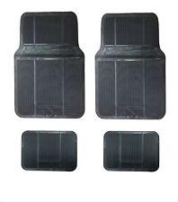Automatten Schwarz Gummimatten Gummi-Fußmatten passend für Opel Ford Fiat GETZ