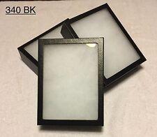 "#340 (10) Riker Mount Display Case Shadow Box Frame Tray 8"" X 6"" X 2"""