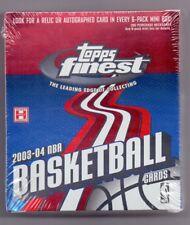 2003-04 Topps Finest Hobby Basketball Mini Box 6 Packs Factory Sealed Lebron RC?