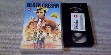 BLACK CAESAR UK BIG BOX STABLECANE VHS VIDEO 1986 James Brown Blaxploitation