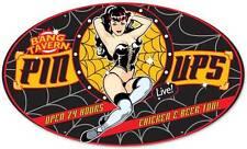 Lethal Threat Pin Up Girl Tavern Metal Sign Man Cave Garage Club Shop LETH029