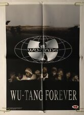 Wu Tang Forever vintage poster 1990's Rap Hip Hop Music Pin-up Wu Wear Wutang