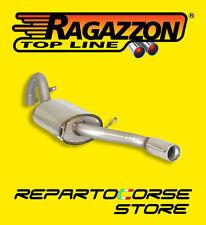 RAGAZZON TERMINALE SCARICO TONDO 80mm ALFA 75 1.8 TURBO AMERICA 87>93 58.0547.04
