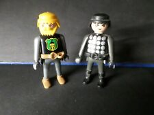 PLAYMOBIL LOT 2 PERSONNAGES CHEVALIER, TB, VF TOYS, occasion