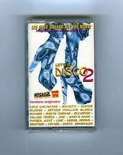 CASSETTE TAPE (NEW) LET'S GO DISCO 2 G.GAYNOR CHIC P.JUVET SYLVESTER S.SLEDGE