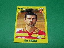 N°138 ERIC SIKORA RC LENS RCL BOLLAERT PANINI FOOT 98 FOOTBALL 1997-1998